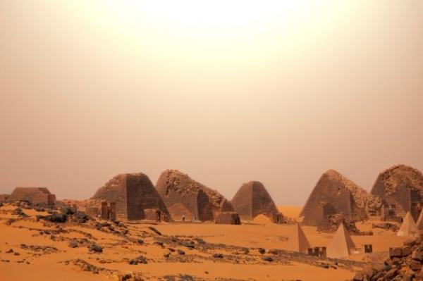Краем с наибольшим количеством пирамид оказался не Египет