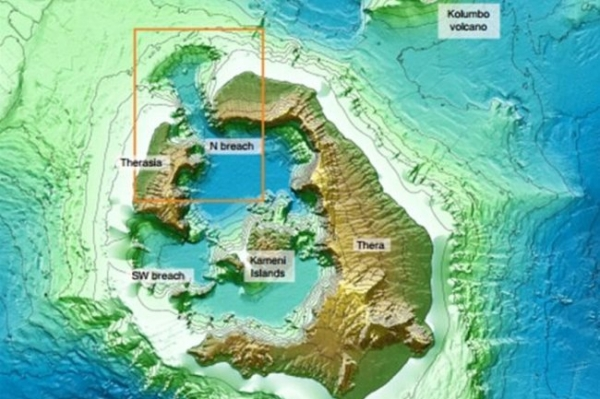 <p>Отыскано объяснение легенде о гибели Атлантиды</p>