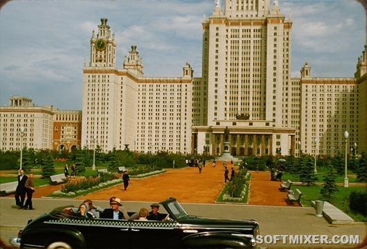 1956 год в краске: наша страна 60 лет назад