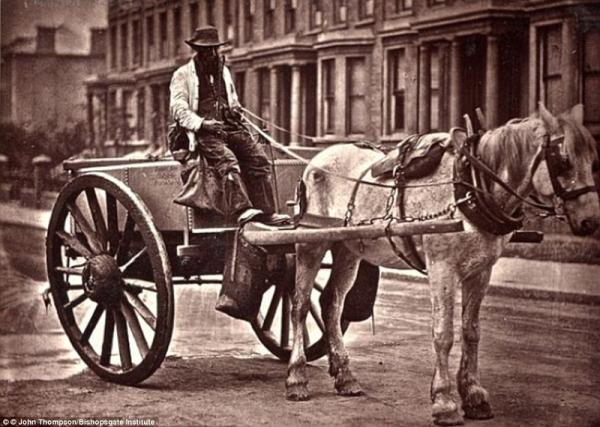 Трубочисты, уличные торговцы и гурьбы попрошаек: Англия 1870-х