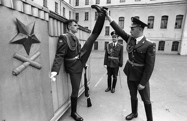 Рота Почетного караула. Россия. 90-е годы