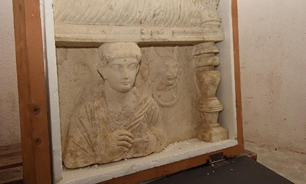 Похищенные древности из Пальмиры отыскались в Женеве
