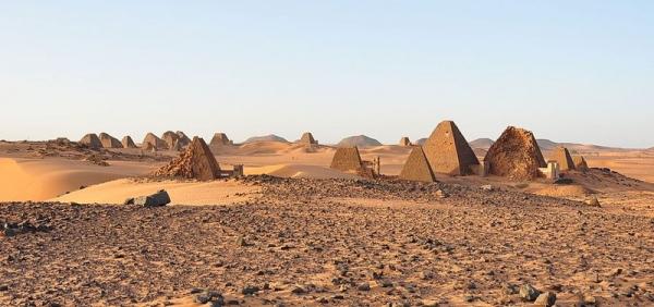 В Судане очутилось больше древних пирамид, чем в Египте