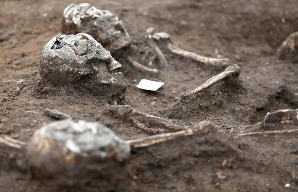 Отыскано крупнейшее древнее захоронение во Франции
