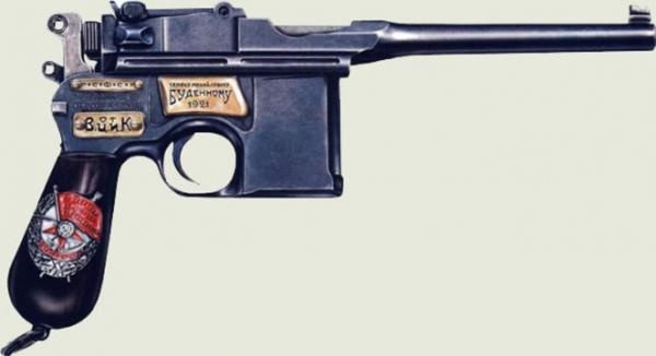 """Маузер"" - пистолет, какие не стрелял, а говорил"