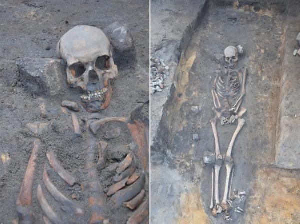 """В Польше отыскали еще три средневековые могилы """"вампиров"""""""