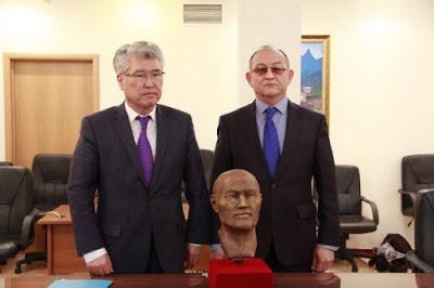 Восстановленный лицо Кейки батыра представили в Астане
