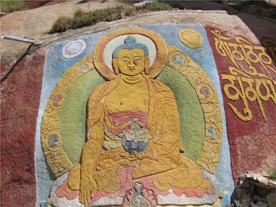 В Тибете отыскали наскальные рисунки возрастом больше тысячи лет