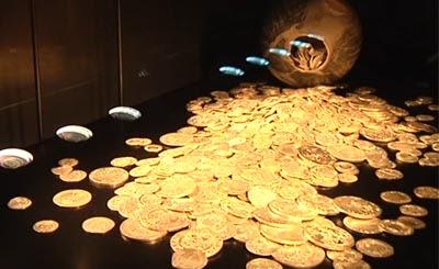 В Бранденбурге отыскан сенсационный клад монет