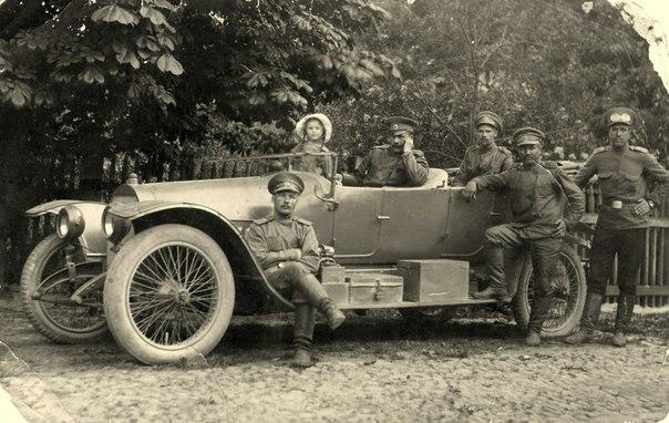 Округи Москвы. Люблино. Инженерные войска. 1915 г.