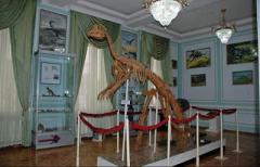 В Узбекистане отреставрировали уникальный костяк утконосого динозавра