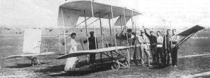 Первым российским самолетом, испытания которого прошли успешно, был биплан Александра Кудашева