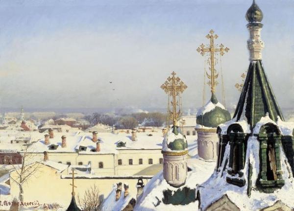 Москва в живописи. Доля 3