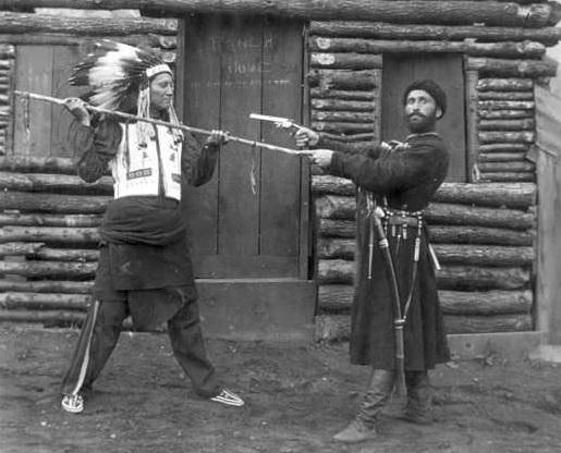 Как русские воевали с индейцами