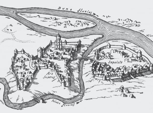 Полоцк в составе федерации земель Великого Княжества