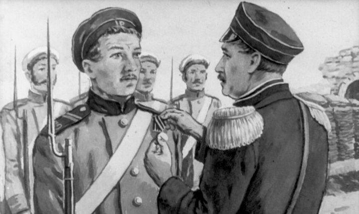Пётр Кошка и иные главные русские герои разных войн