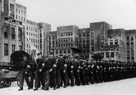 Какие белорусы воевали за немцев в Великую Отечественную