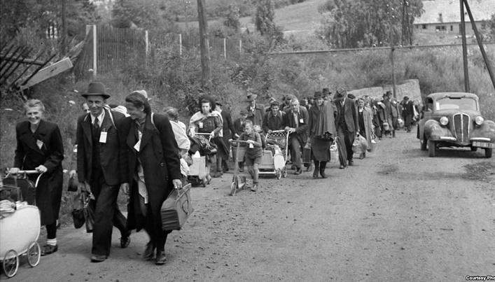 Последствия Другой мировой войны и другие крупнейшие переселения народов