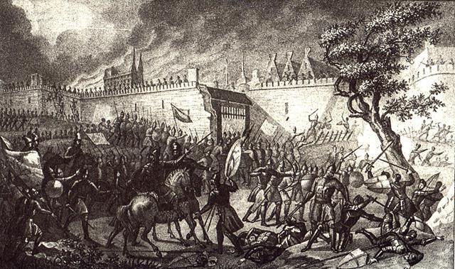 Из кого заключалась армия Ивана Грозного во время Ливонской войны