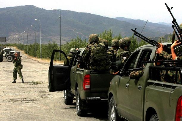 Как«военный бурят»Бато Дашидоржиев остановил колонну грузинского спецназа
