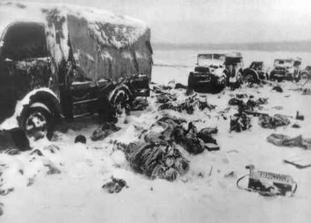 Как погребали погибших солдат под Сталинградом