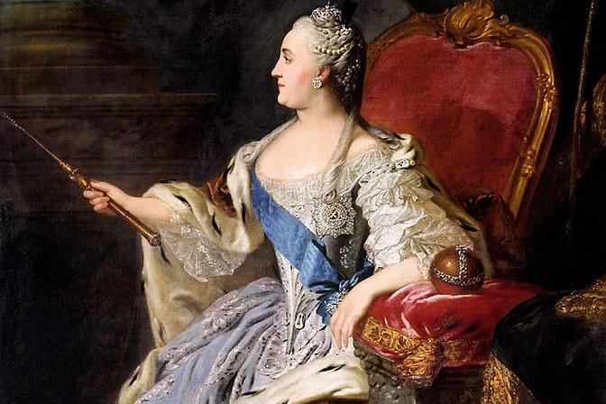 Что нехорошего сделала Екатерина II для России