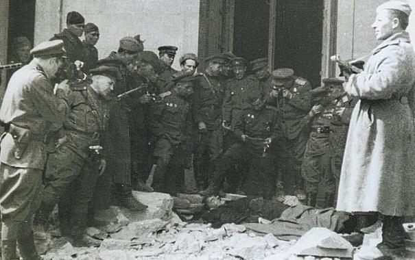 Как истребили останки Гитлера