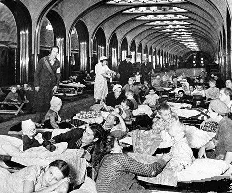 23 июля 1941 года: самый ужасный день в истории московского метро