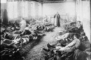 Отчего военная медицина России не была готова к Первой мировой войне