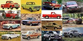 Пикап Ford F-Series: Короткий гид по всем 14-и поколениям