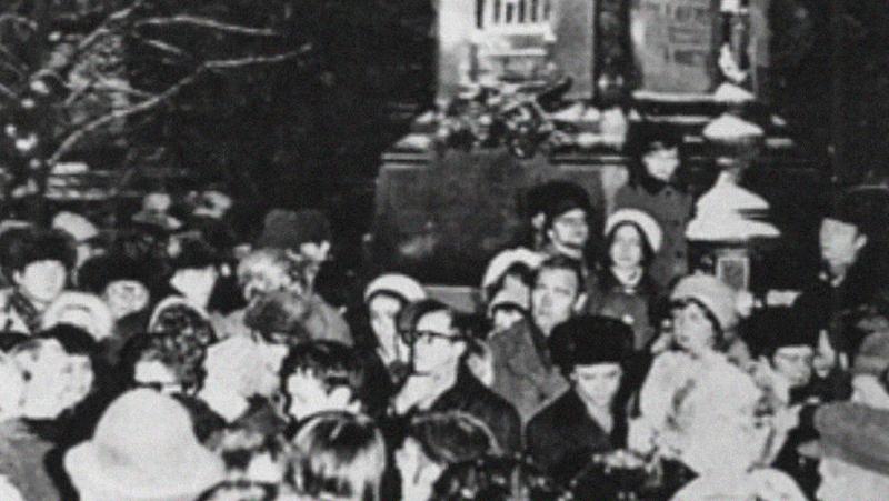 «Антисоветская вылазка»: как прошел первоначальный митинг гласности