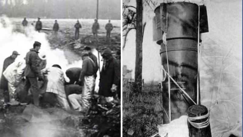 «Все было в пламени»: как над США развалился В-52 с водородными бомбами