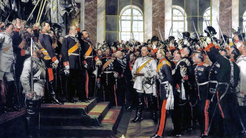 Унижение французов: как Германия сделалась империей