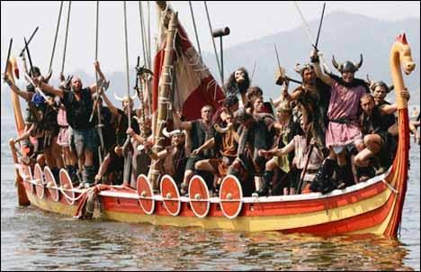 Фестиваль викингов в Йорке