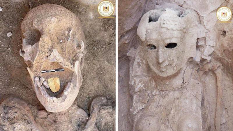 Поговорить с Осирисом: в Египте отыщи мумию с золотым языком