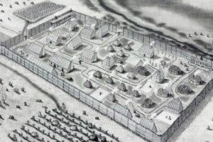 В США отыскан заброшенный в XVII веке колониальный форт Сент-Мэри