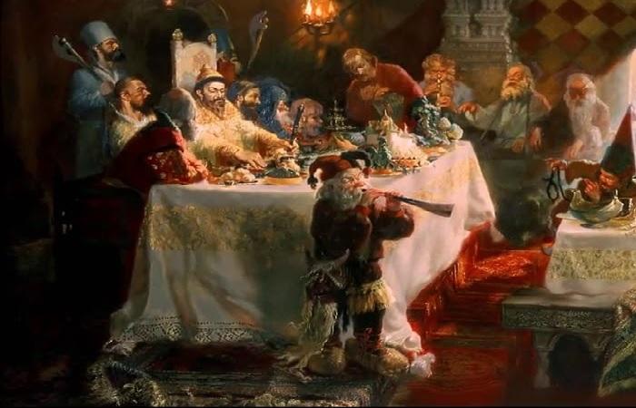Как пировал первоначальный русский царь Иван Грозный,  и Почему мясо готовили татары