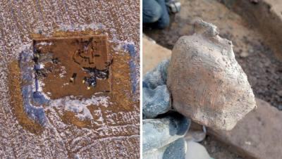 «Сосуды бывальщины врыты в землю»: в Польше нашли «фабрику» вандалов