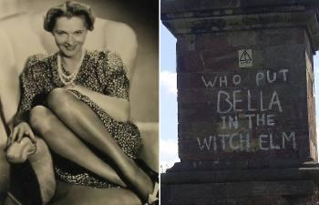 Распространенное в Англии оборот, которое берет начало от нераскрытого преступления: «Кто положил Беллу в Ведьмин вяз?»: