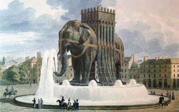 Куда пропал гигантский слон Бастилии, cозданный по приказу Наполеона