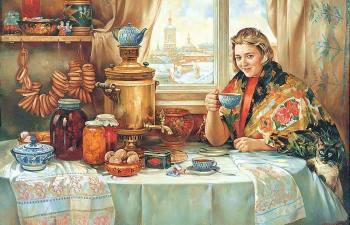Кого на Руси именовали чаерезами, и Почему чай ценился на вес золота