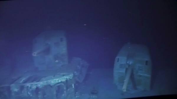 Дайверы исследовали потопленный в 1944 году эсминец Johnston