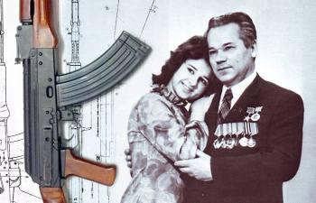30 лет семейного счастья Михаила Калашникова: Как легендарный машина АК «отблагодарил» своего создателя