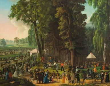 Как справляли первомай в середине XIX века