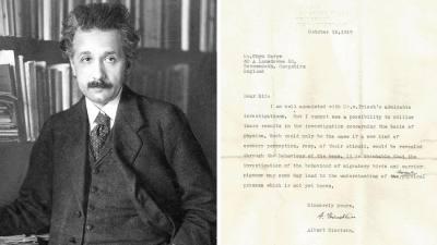 О птицах и пчелах: отыскано ранее неизвестное письмо Эйнштейна