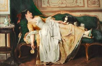 Как почивали аристократы в XVIII веке: Шкаф вместо кровати, ларец-подушка и другие странности
