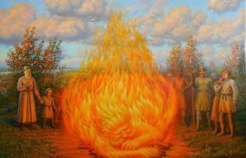 Как на Руси дави предков возбуждали, и Почему для этого требовалось разжигать костры и топить баню