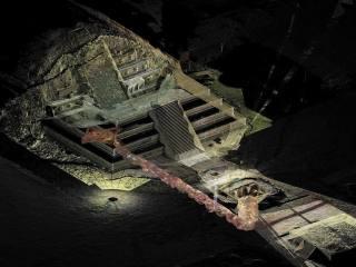 В туннеле Теотиуакана отысканы уникальные органические артефакты