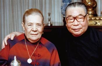 Как несложная рабочая с завода сделалась первой леди Тайваня: Файна Вахрева и Чан Кайши