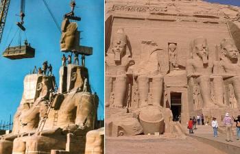 Зачем египтяне поднимали древние святилища на высоту 20-этажного небоскрёба и как они это сделали